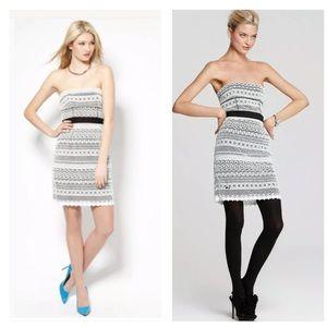 CYNTHIA STEFFE Trudy Strapless Dress in White